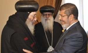 Mohomed Morsy and Religious Leader in Egypt