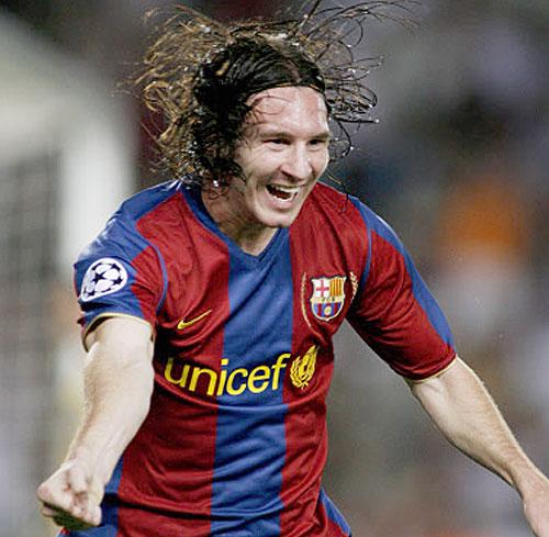 Lionel Messi - Barca Superstar Striker