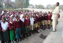 Darasa la saba shule ya Msingi Levolosi Arusha.