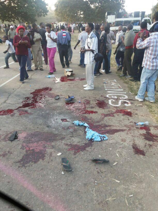 Bomu Laua Mtu na Kujeruhi Watu 6 Mkutano wa Chadema Arusha
