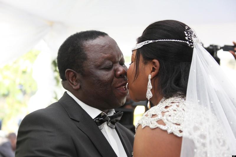 Zimbabwe Morgan Tsvangirai Wedding