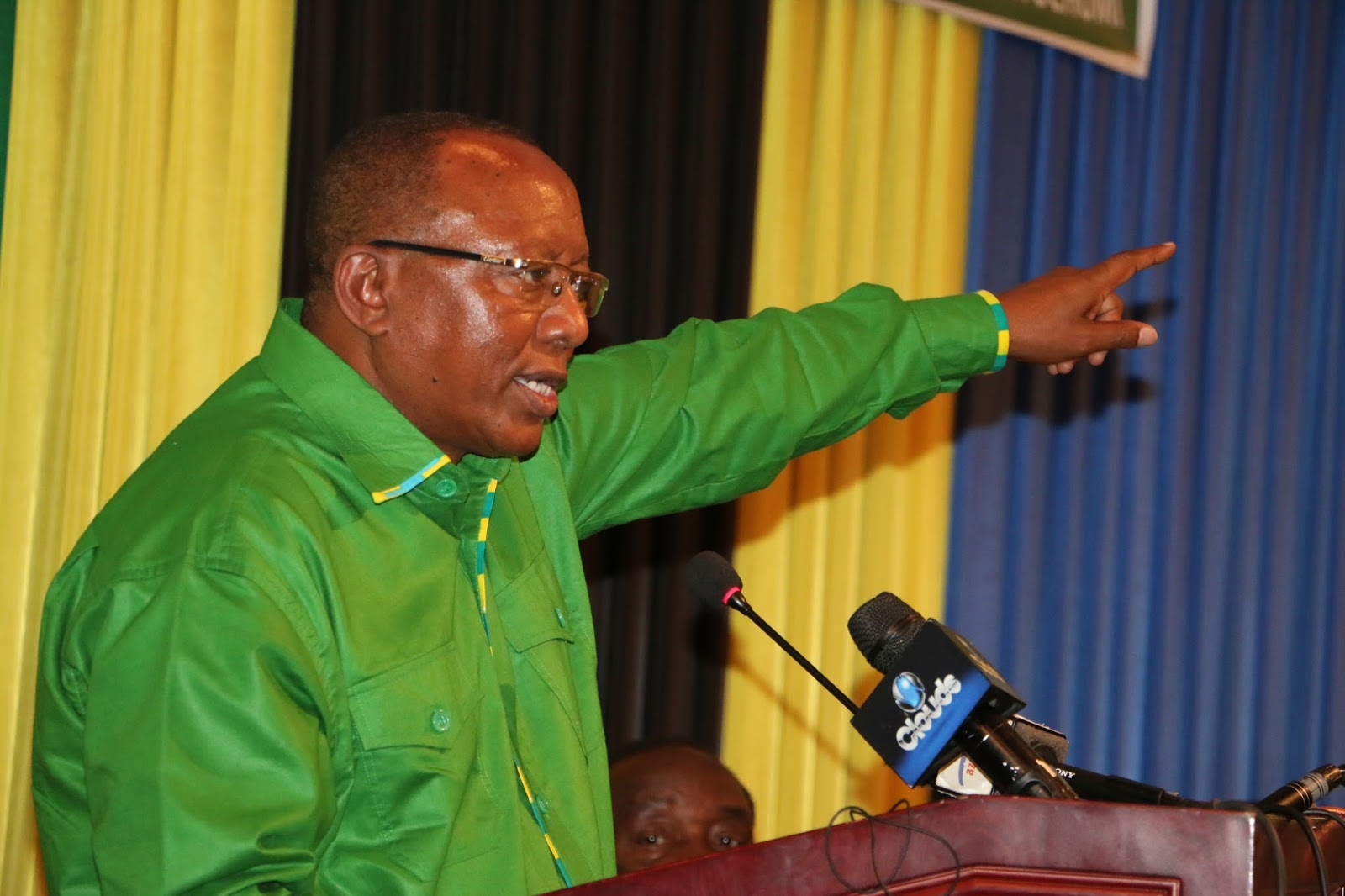Frederick Sumaye Akitangaza Nia ya Urais 2015