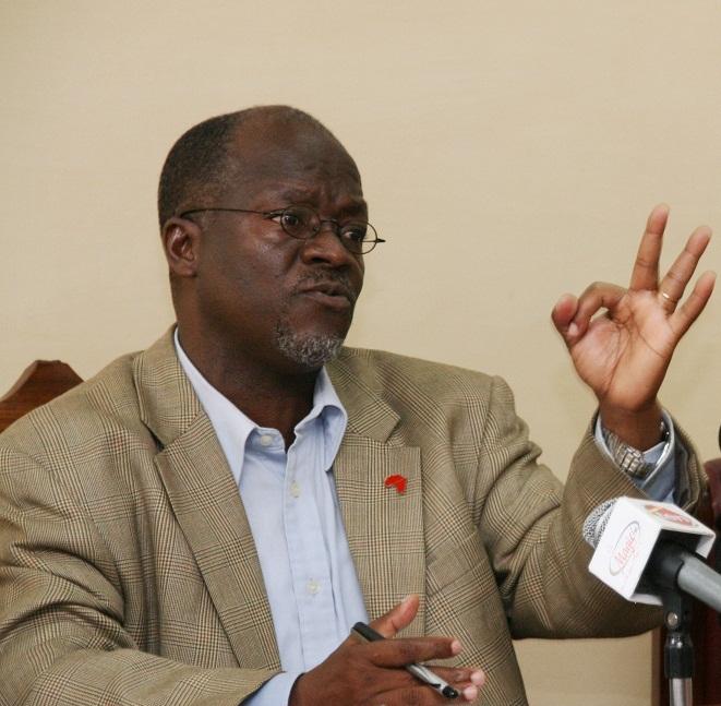 Dr. John Pombe Joseph Magufuli