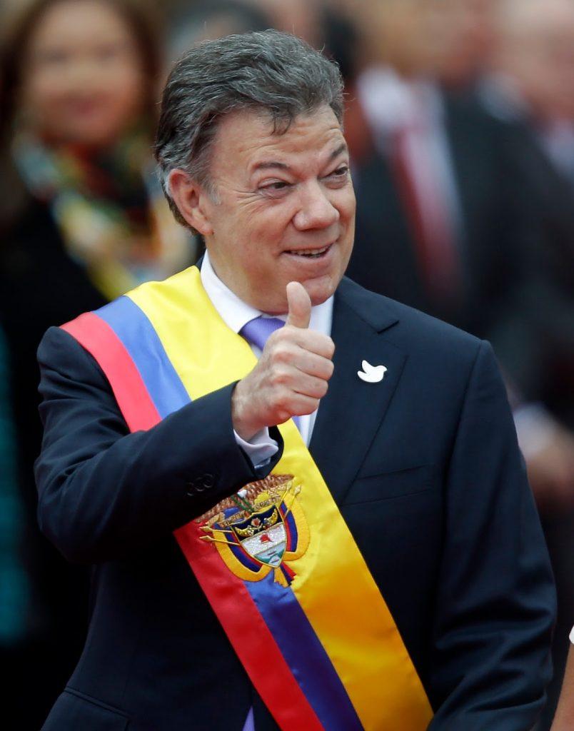 Rais wa Colombia Juan Santos Apewa Nishani ya Amani ya NOBEL 2016